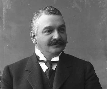 Sam Eyde, photo 1908