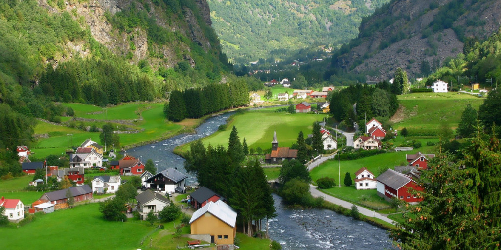 Flaam is like a toy village