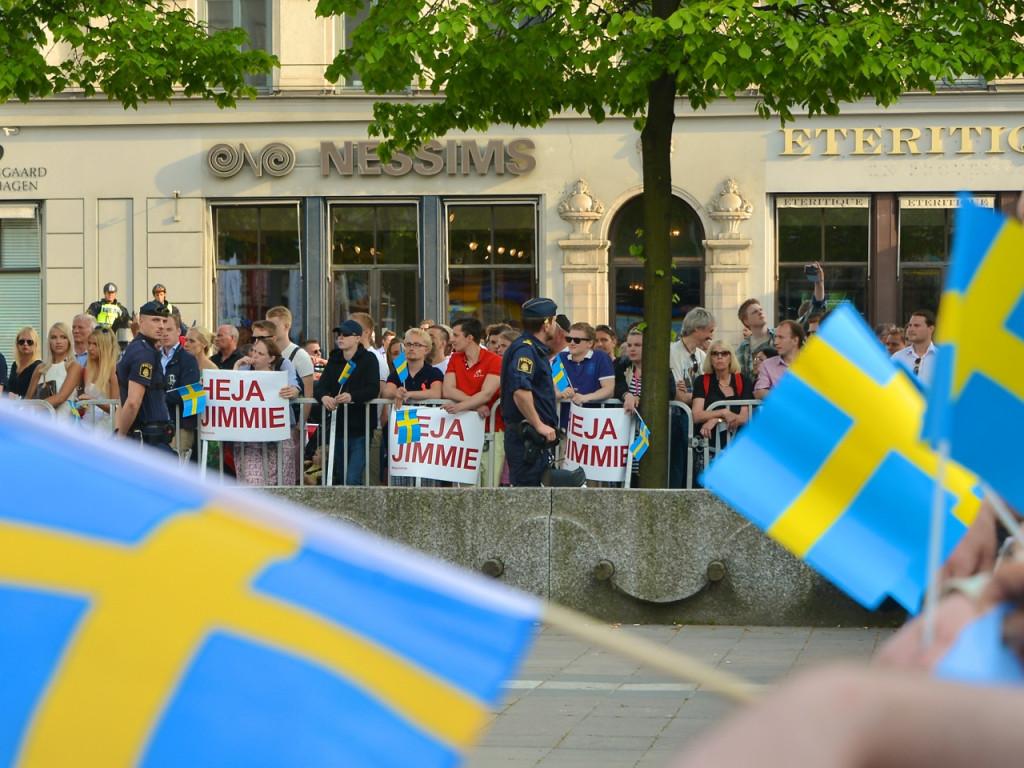 SD-sympatisörer inför EU-valet 2014