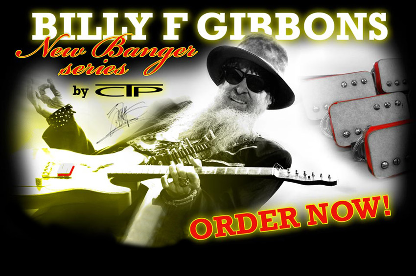 Billy Gibbons Cream-T