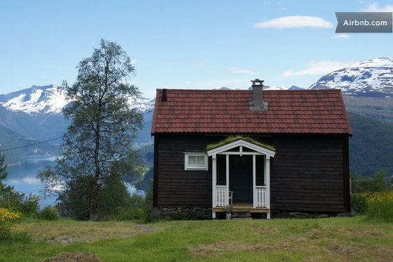 Jakobstova farm in Norway