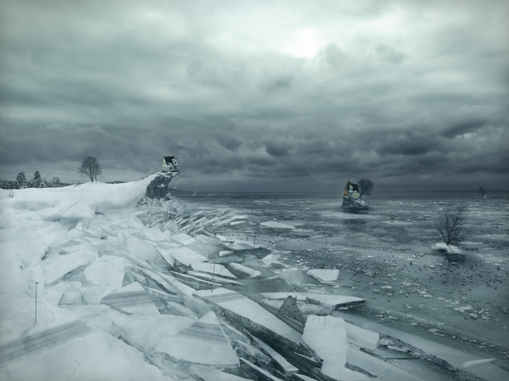 Breaking up, by Erik Johansson