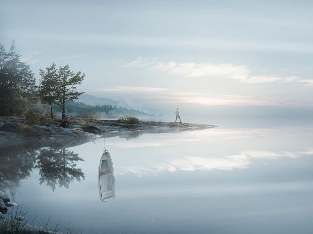 Endless reflections, by Erik Johansson