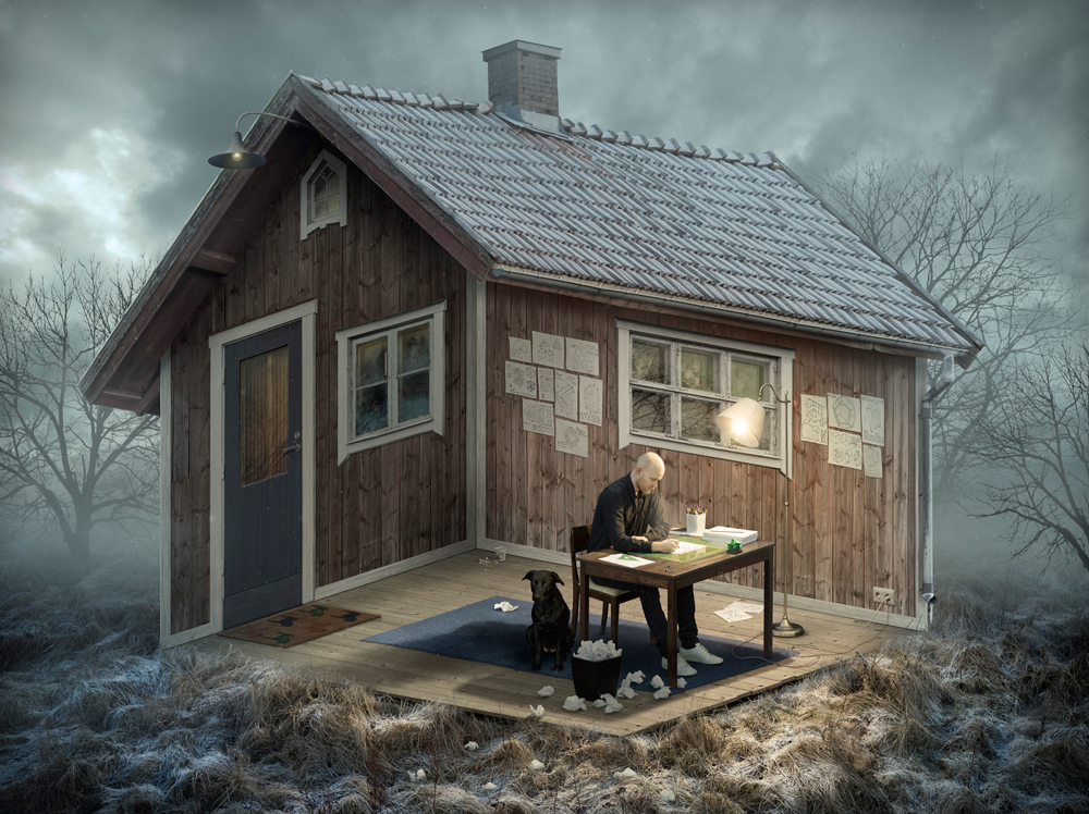 The architect, by Erik Johansson