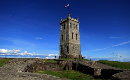 Slottsfjellet - Castle Rock - in Tonsberg