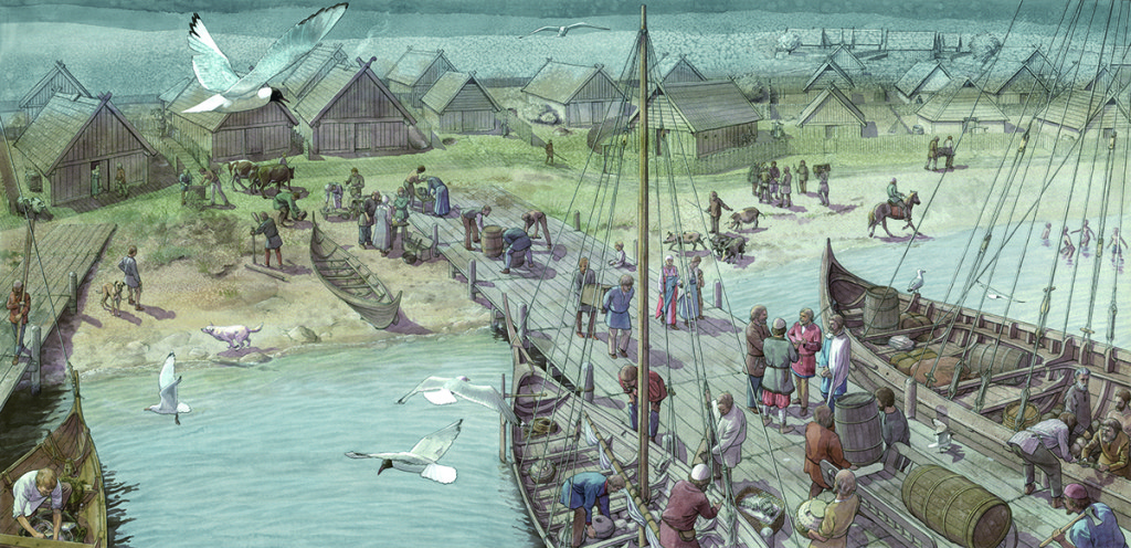 Kaupang - Viking trading town