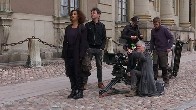 "Shooting ""Stockholm My Love"" in Stockholm"