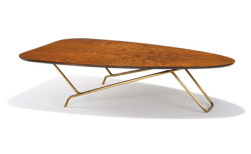 Rare occasional table by Greta Magnusson Grossman