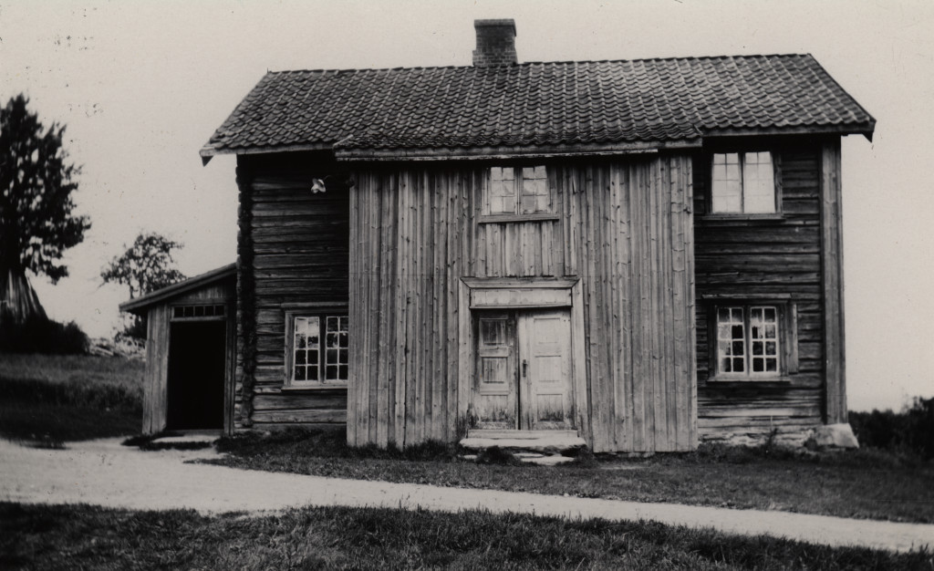 Old farm at Galterud, North Stensbøl, Hedmark