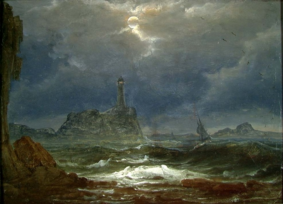 Peder Balke, The Lighthouse