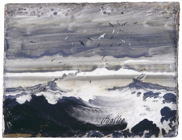 Peder Balke, The Stormy Sea