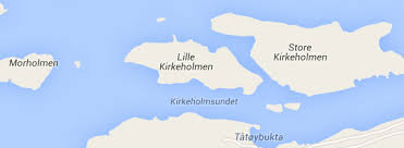 Map of Kirkeholmene