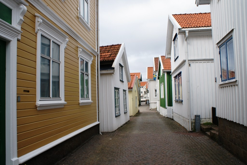 From old town, Lysekil