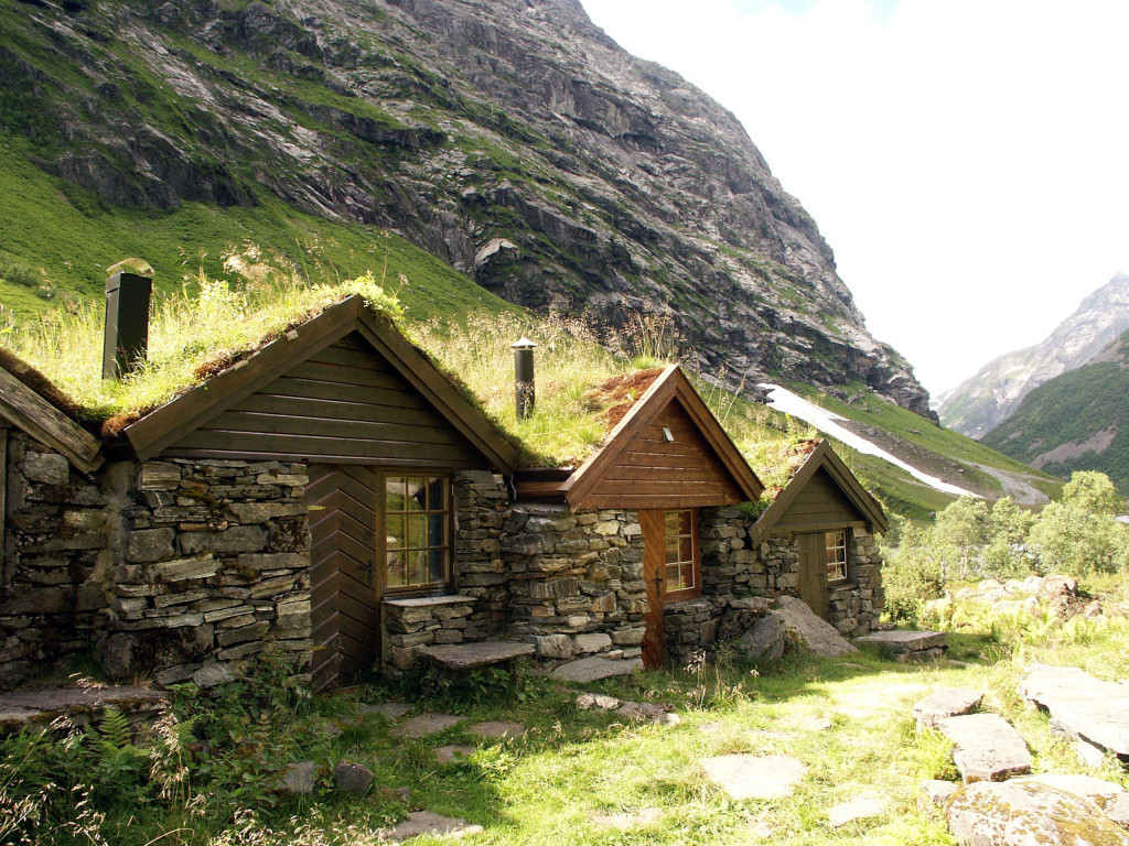 Mountain pasture Nordangsdalen
