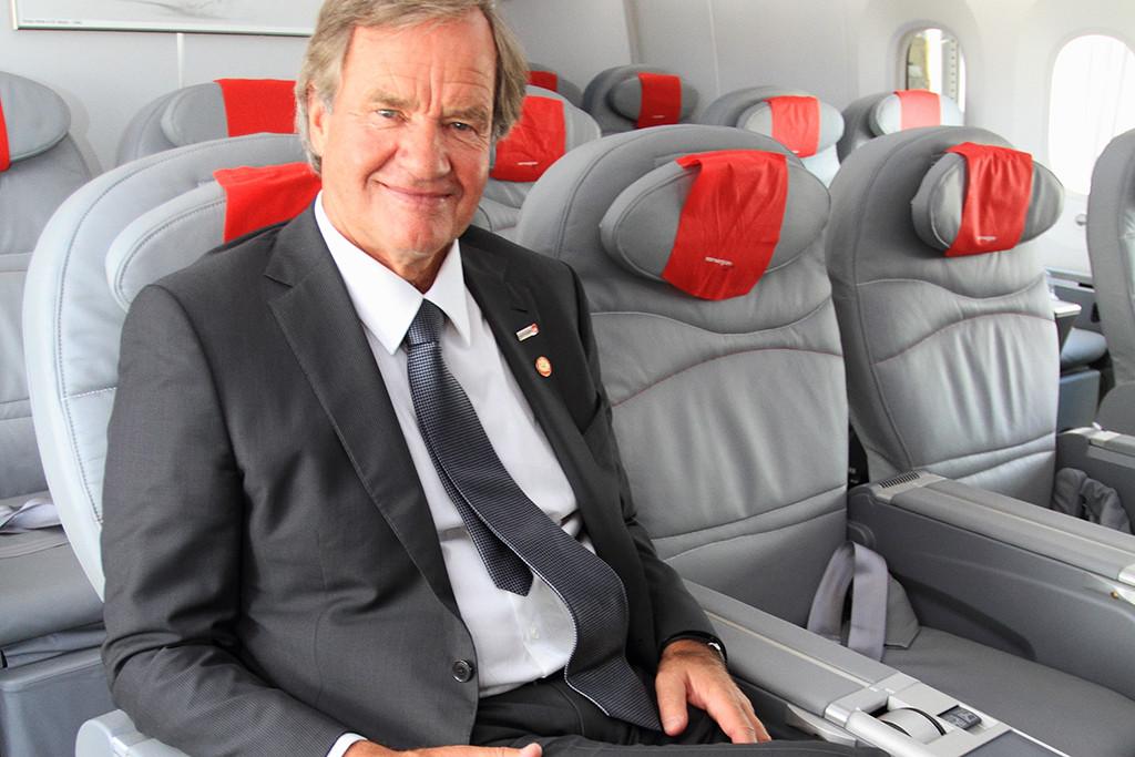 Norwegian Air Shuttle CEO Bjørn Kjos