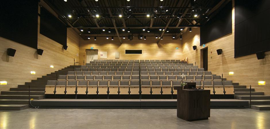 The auditorium