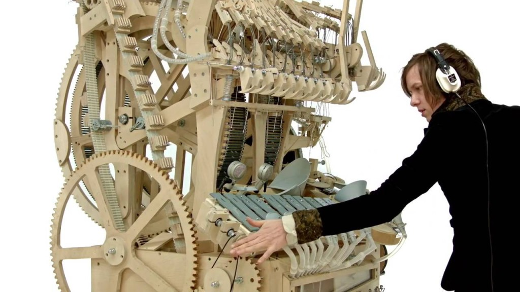 Martin Molin and his Wintergatan marble machine