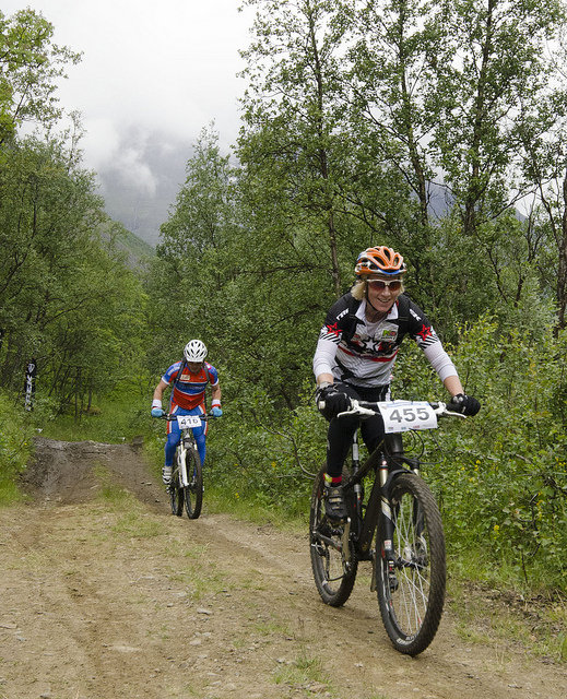 MTB race. Photo: Chris Brynjulfasen