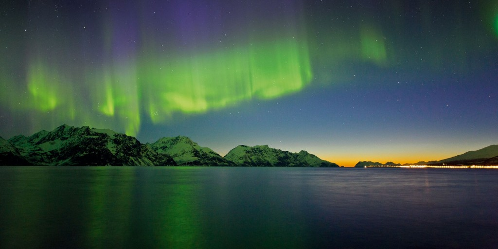 Northern lights. Photo: Ctjan R. Olsen