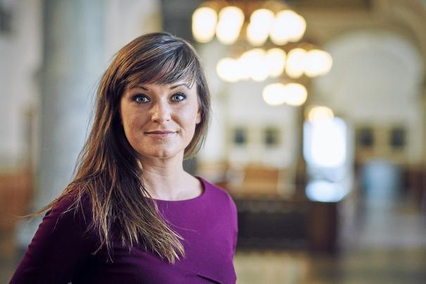 Danish health minister Sophie Lohde
