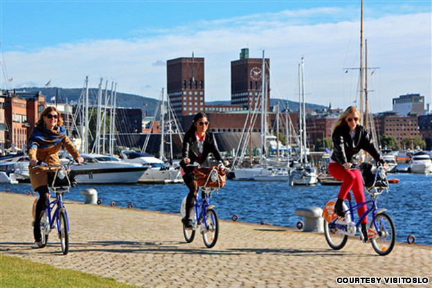Bicycling in Oslo