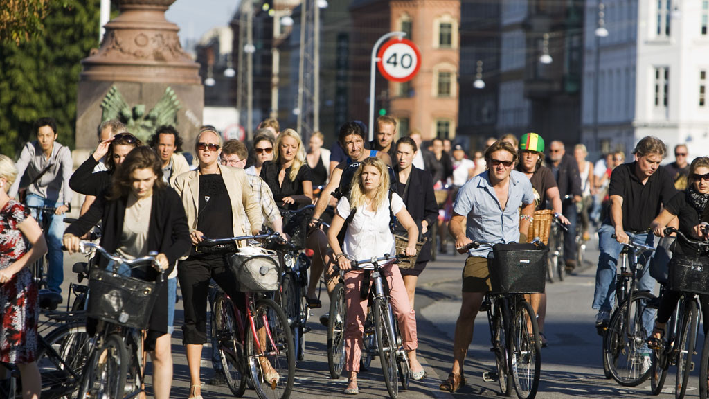 Copenhhagen cyclists. Photo: Kasper Thyge