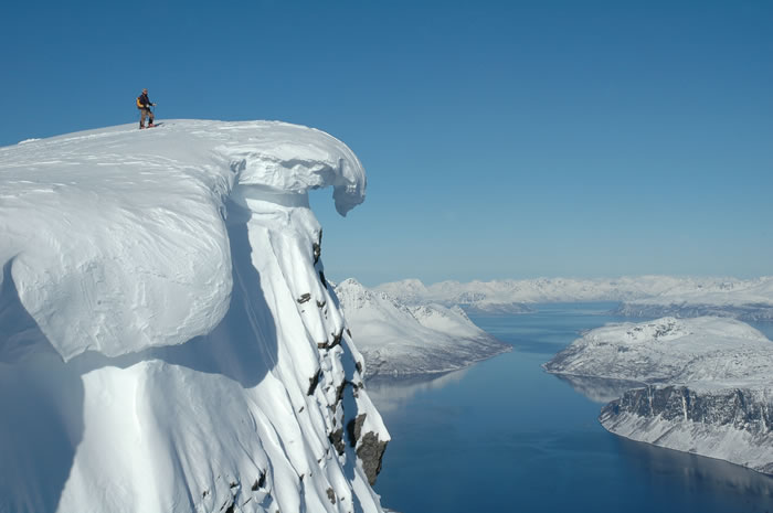The Lyngen Alps in northern Norway