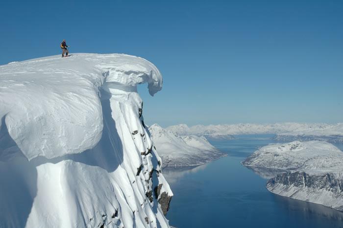 The Lyngen Alps in northern Norway