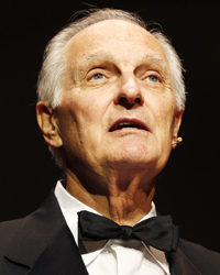 This year's ceremony will be hosted by Alan Alda and Lena Ellingsen