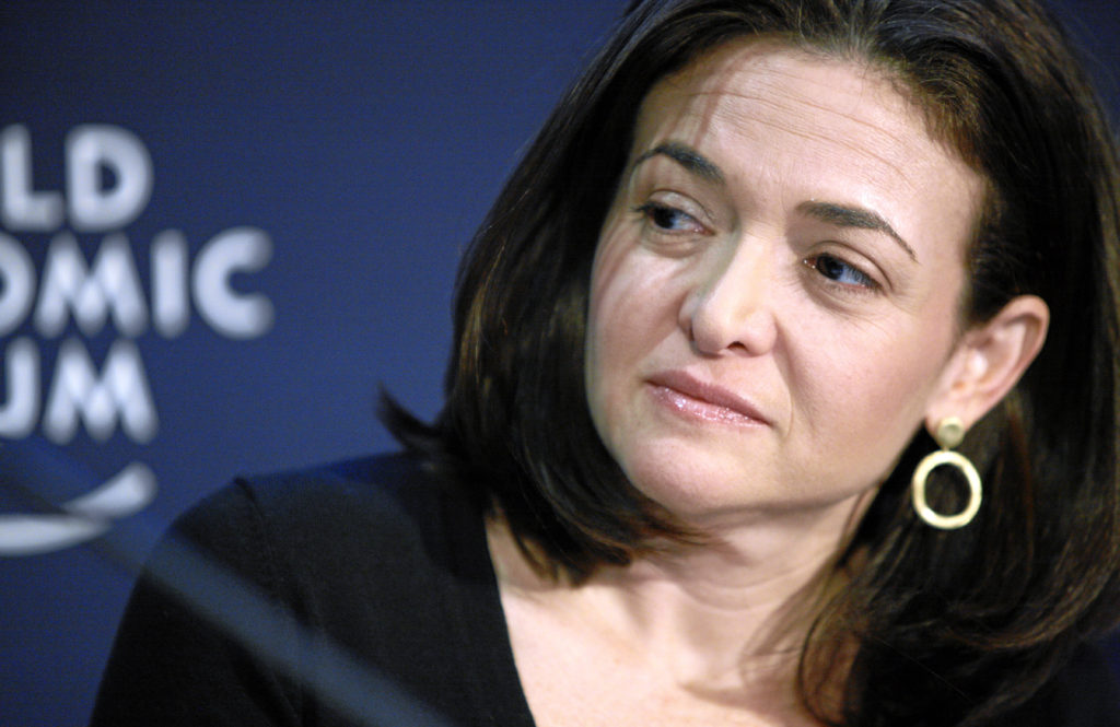 The chief operating officer of Facebook, Shewryl Sandberg, has apologized to Norway's prime minister Photo by Jolanda Flubacher/Wikipedia