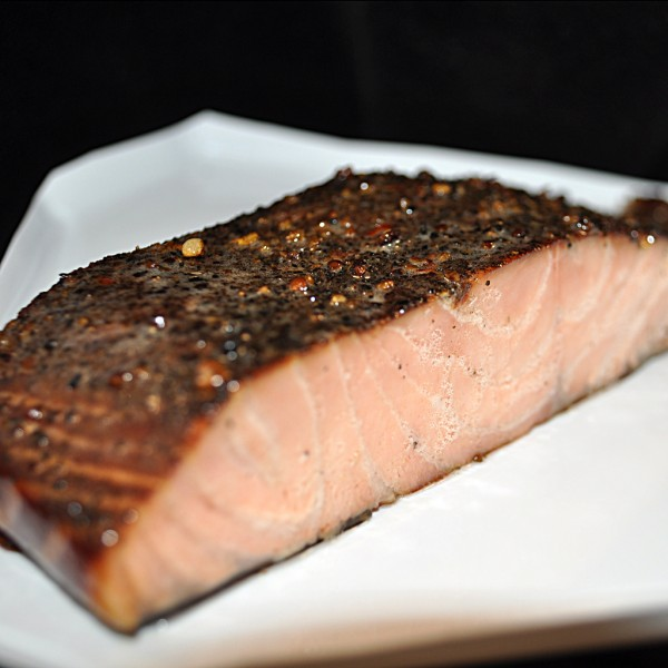 Smoked organic Norwegian salmon