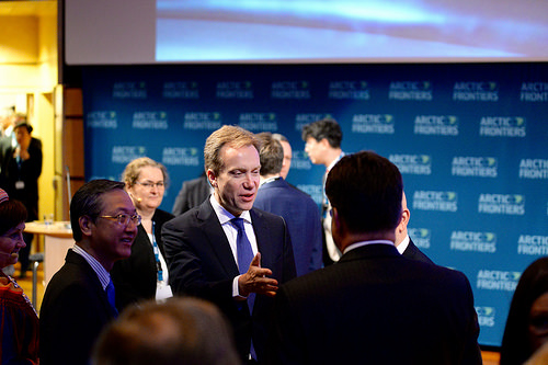 Minister of Foreign Affairs, Borge Brende at Arctic Frontiers Conference 2016