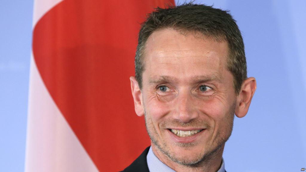 Danish Foreign Minister, Kristian Jensen