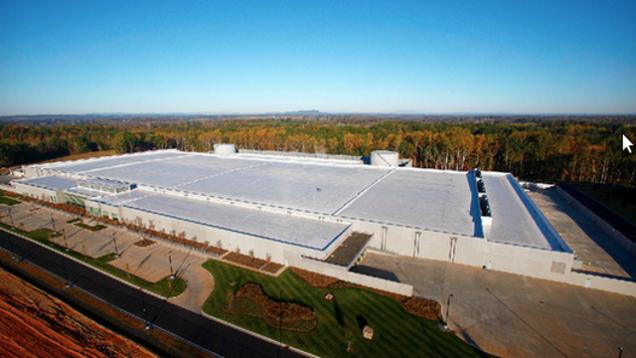Apple's planned facility in Aarhus