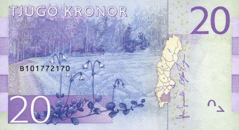 071116-sweden-20-kronor-banknote