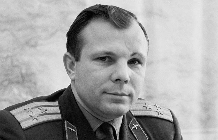 Yuro Gagarin portrait (Tass)
