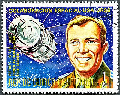 Yuro Gagarin stamp