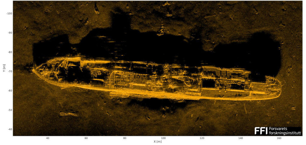 Norwegian Coastal Administration locates 15 more WW2 wrecks in Skagerak