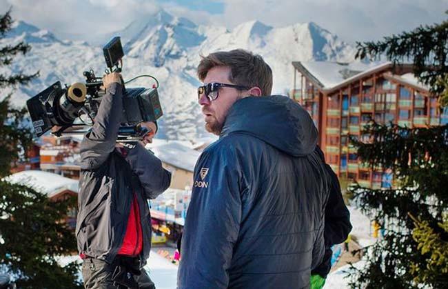 Ruben Ostlund in Italian Alps