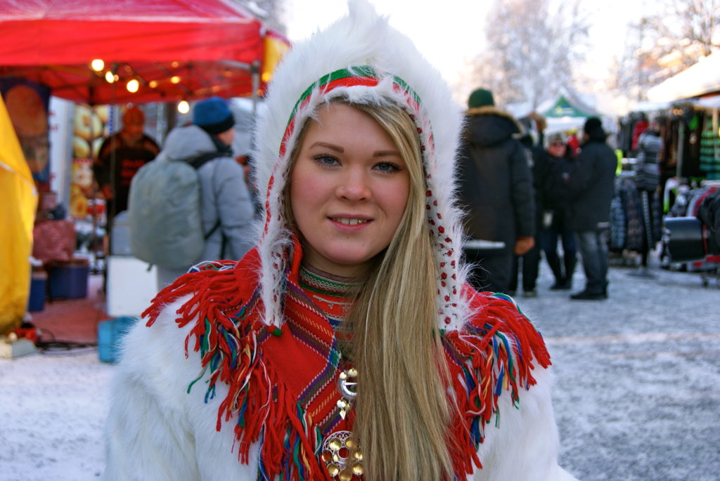 Sami girl