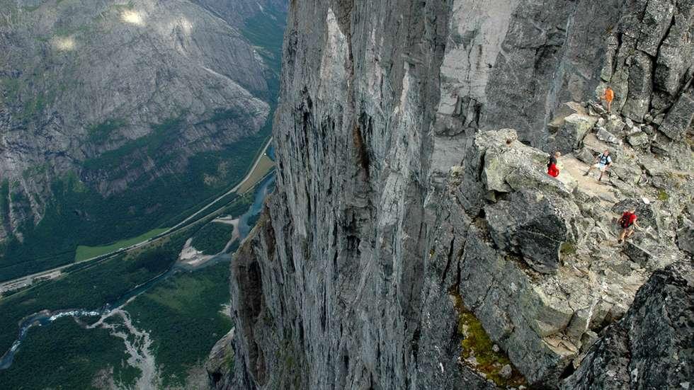 Trollveggen (Troll's Wall)