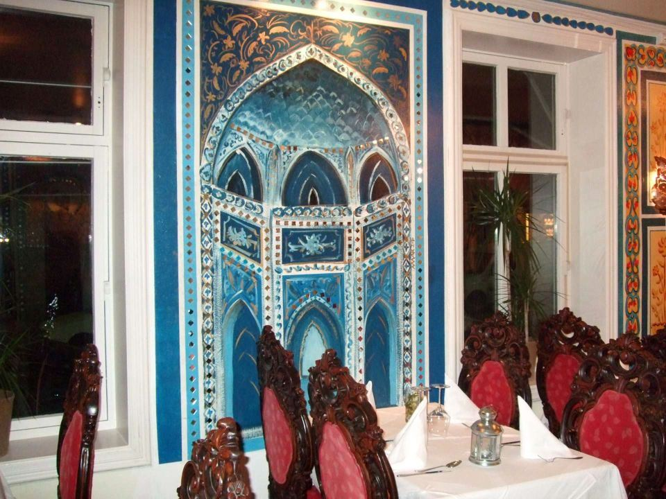 From Taj Mahal restaurant in Oslo