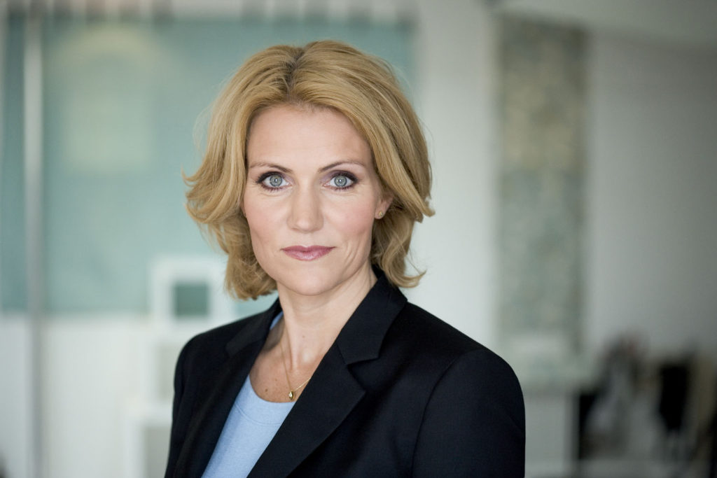 former Danish PM Helle Thorning-Schmidt, now the CEO of Save the Children International