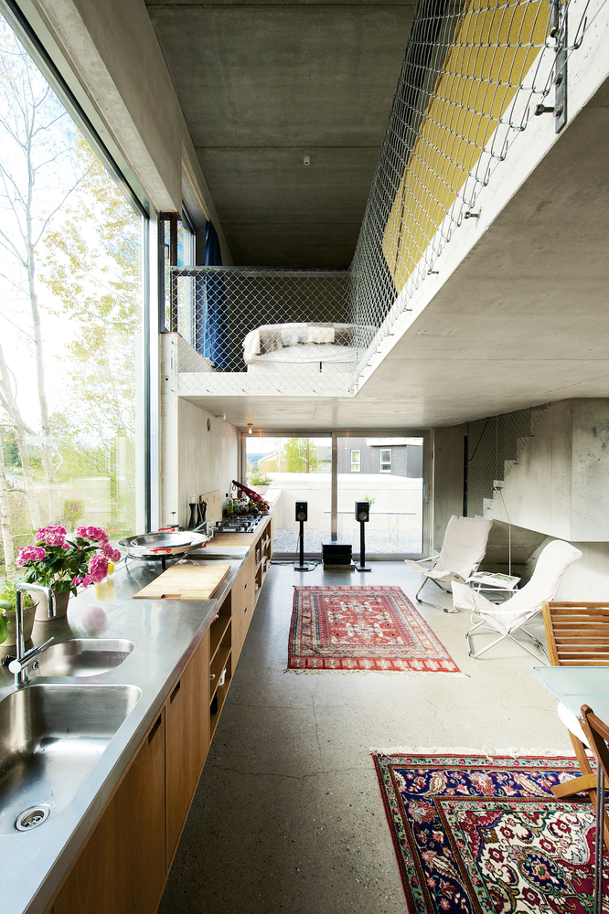 Prefabricated Concrete Norwegian Villa
