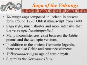 The Saga of the Volsungs
