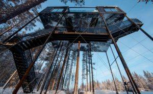 Room 7 at Sweden's Treehotel