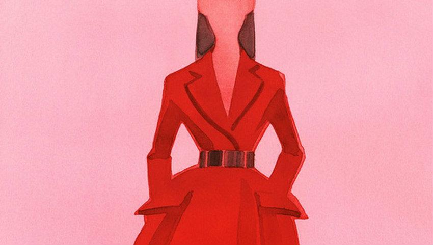 Dior by Swedish Illustrator