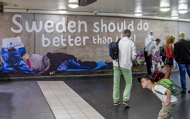 Sweden – The Humanitarian Superpower