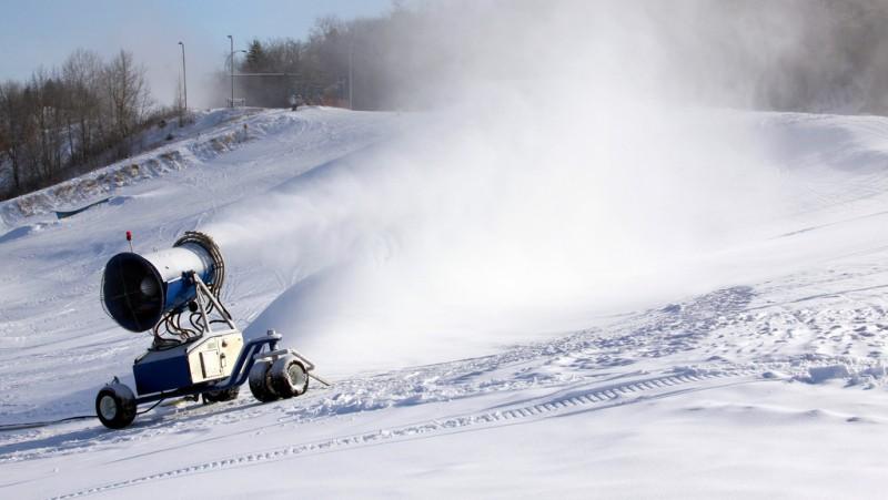 Eco-friendly Norwegian Snow Machines