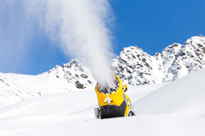 Eco-friendly Norwegian Snow Machines